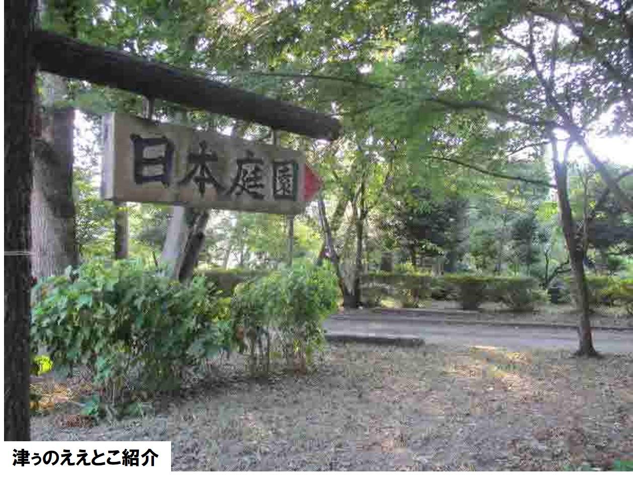津城跡(日本庭園) 金子誠子さん